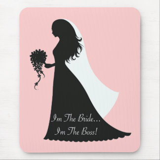 Bride Boss (p) Mouse Pad