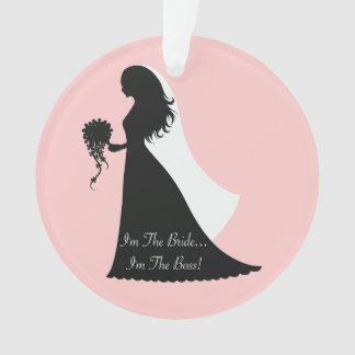 Bride Boss (pink) Ornament