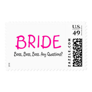 Bride Boss Postage