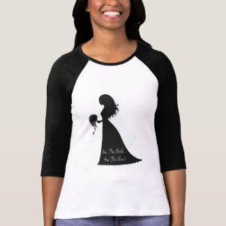 Bride Boss Silhouette T-shirts