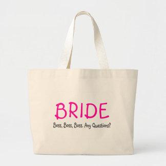 Bride (Boss) Tote Bag
