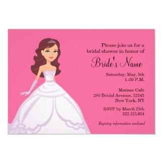 """Bride Bridal Shower Invitation 5"""" X 7"""" Invitation Card"""