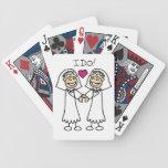 Bride-Bride I Do Bicycle Card Deck