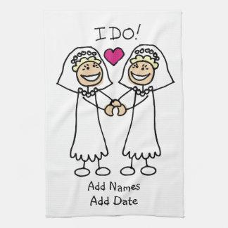 Bride-Bride I Do Towels