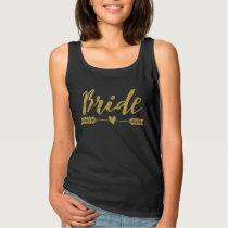 Bride/Bride Tribe / arrow and heart-4 Tank Top