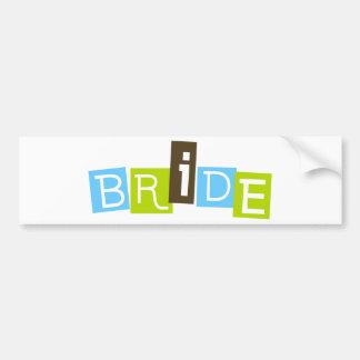 Bride Bumper Sticker