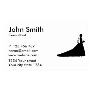Bride Business Card