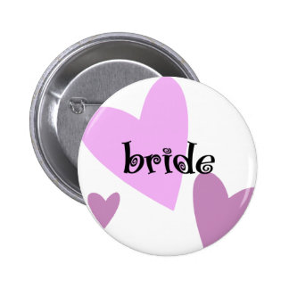 Bride Pinback Buttons