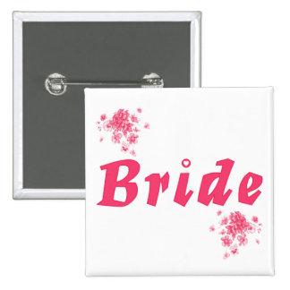 Bride Pinback Buttons