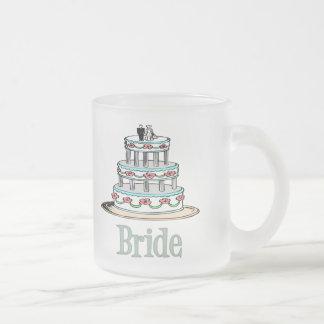 Bride (Cake) Frosted Glass Coffee Mug