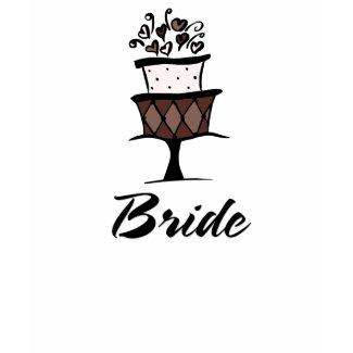Bride Cake shirt