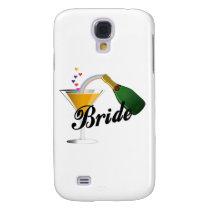 Bride Champagne Toast Galaxy S4 Case