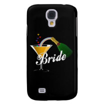 Bride Champagne Toast Samsung Galaxy S4 Cover