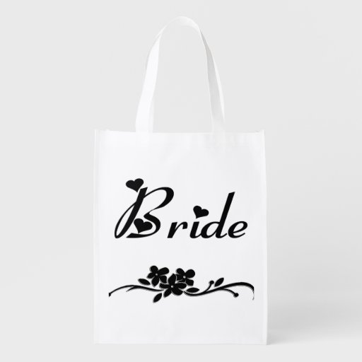 Bride Classics Reusable Grocery Bags