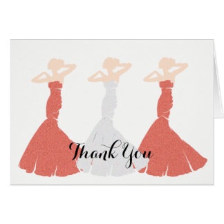 BRIDE & CO Apricot Be My Bridesmaid Note Cards