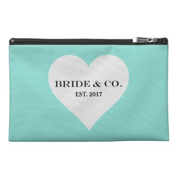 McTiffany Tiffany Aqua BRIDE & CO. Blue Tiffany Heart Accessory Bag