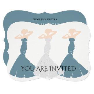 BRIDE & CO Cornflower Blue Bridal Party Invitation