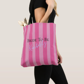 BRIDE & CO Fabulous Bride To Be Party Tote Bag
