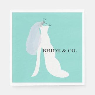 BRIDE & CO Here Comes The Bride Napkins