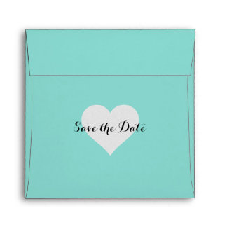 BRIDE & CO Save the Date Square Envelope