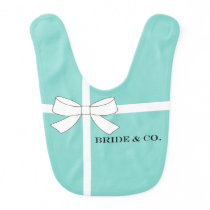 BRIDE & CO Shower Party Favor Baby Bib