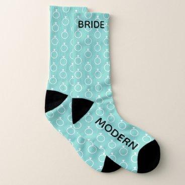 Beach Themed BRIDE & CO The Modern Bride Bridal Party Socks
