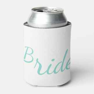 BRIDE & CO Tiffany Teal Blue Bride Can Cooler