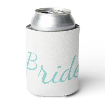 McTiffany Tiffany Aqua BRIDE & CO Tiffany Teal Blue Bride Can Cooler