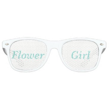 McTiffany Tiffany Aqua BRIDE & CO. Tiffany Wedding Flower Girl Sunglasses