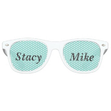 McTiffany Tiffany Aqua BRIDE & CO. Tiffany Wedding Party Sunglasses