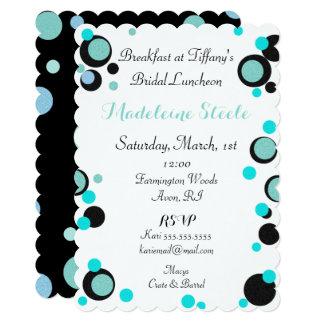 BRIDE & CO. Tiffany's Theme Party Invitation