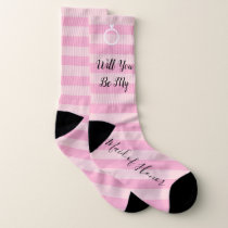 BRIDE & CO Will You Be My Maid Of Honor Sock Socks