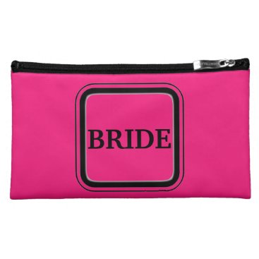 Bride Themed Bride Cosmetic Case (Funny back)