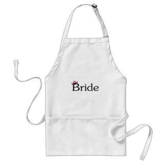 Bride (Cowboy Hat) Adult Apron