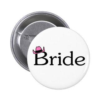 Bride (Cowboy Hat) Pin