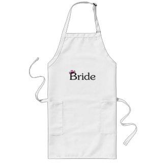 Bride (Cowboy Hat) Long Apron