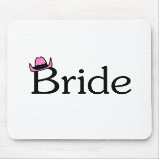 Bride (Cowboy Hat) Mouse Pad