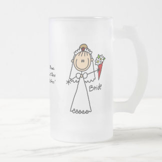 Bride Customizable Glass Mug