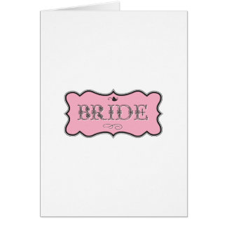 Bride Design 01 273a Card