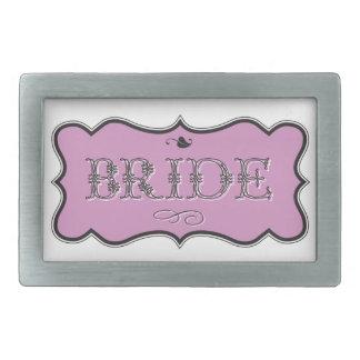 Bride Design 01 273d Rectangular Belt Buckle