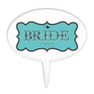Bride Design 01 273f Cake Toppers