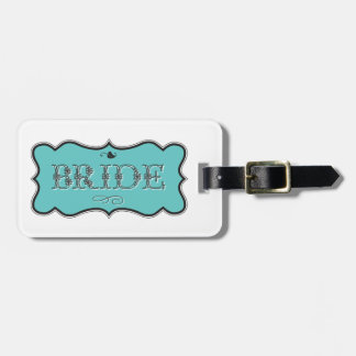 Bride Design 01 273f Travel Bag Tag