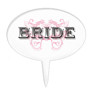 Bride Design 02 273a Cake Toppers