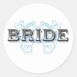 Bride Design 02 273b Sticker