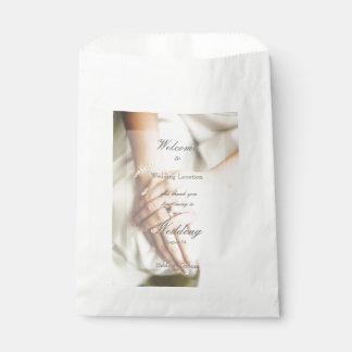 Bride Diamond Ring Wedding Favor Bag