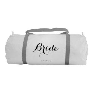 Bride Duffle Bag