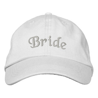Bride Embroidered Cute Wedding Hat Embroidered Hat