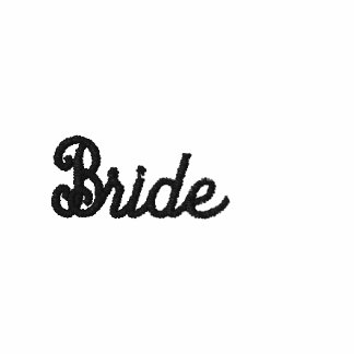 Bride Embroidered on Polo