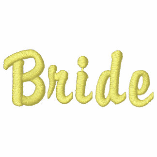 Bride Embroidered Shirt