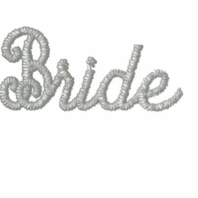 Bride Embroidered Hoody